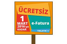 Yeni Mükelleflere Uyumsoft e-fatura 1 Mart 2016'ya kadar Ücretsiz.